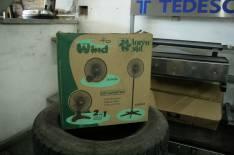 Ventilador de Pared Lorensid 40cm