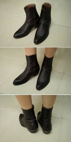 Zapato Middle angle boots