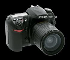 Camara Nikon D 200 Profesional