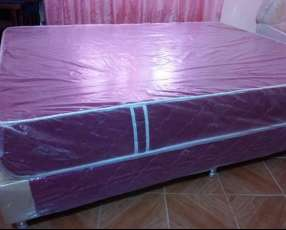 Sommier 1,40 x 1,90 metros base y colchón