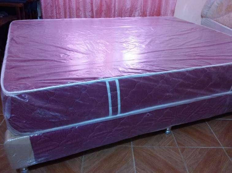 Sommier 1,40 x 1,90 metros base y colchón - 0