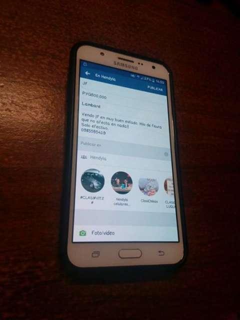 Samsung Galaxy J7 fisurado