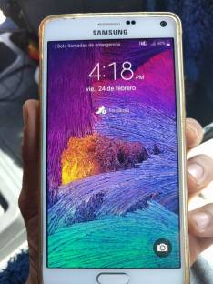 Samsung Galaxy Note 4 con 32 gb liberado