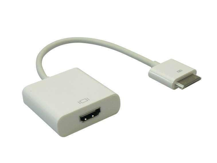 Adaptador iPad salida HDMI conector dock - 0