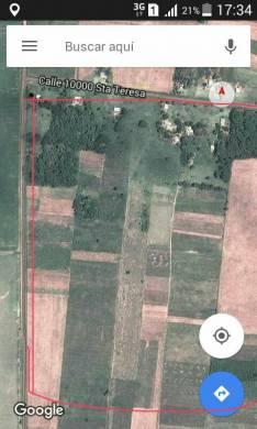 Terreno titulado de 4 hectáreas en San Estanislao