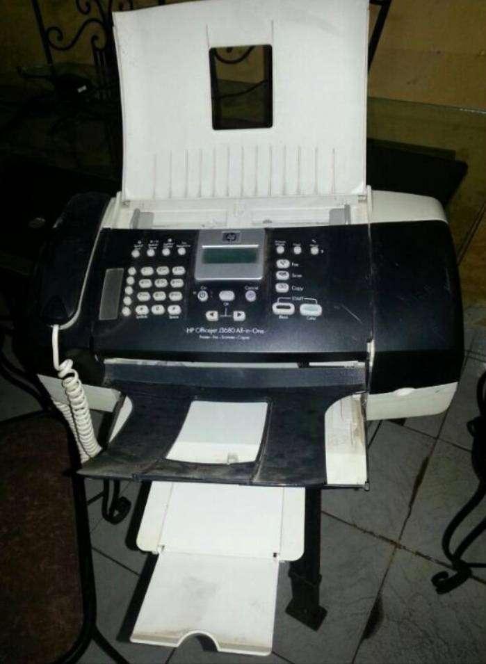 Impresora HP AllinOne J3680 ink.