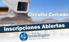 Curso de Tecnico profesional CCTV Digital