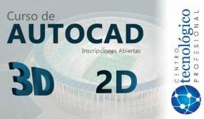 AutoCad 2 D y 3 D