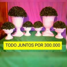 Copas para decoración