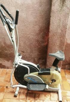 Bicicleta elíptica santolee platinum