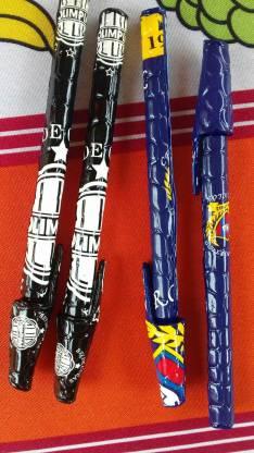Bolígrafos forrados