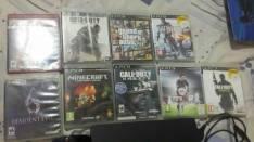 PS3 con 9 juegos