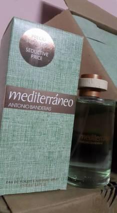 Perfume Antonio banderas mediterráneo 200ml original