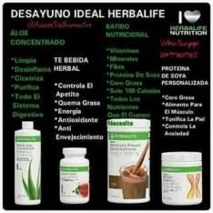 Productos naturales. HERBALIFE