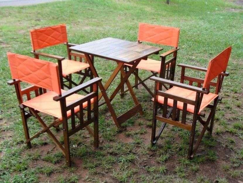 Juego de muebles de jardín, confiteria, restaurantes, bar - 4