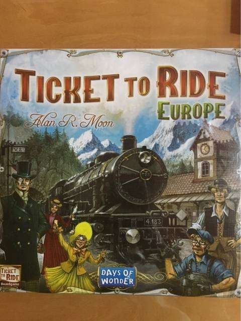 Ticket to Ride Europe - 0
