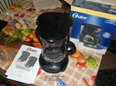 Cafetera capacidad 4 tazas