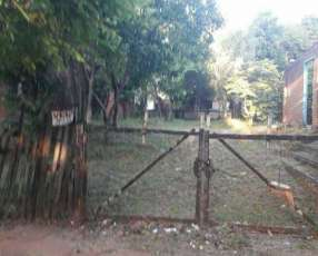 Terreno zona comercial en Villarrica