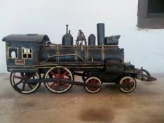 Locomotora de coleccion hecho a mano
