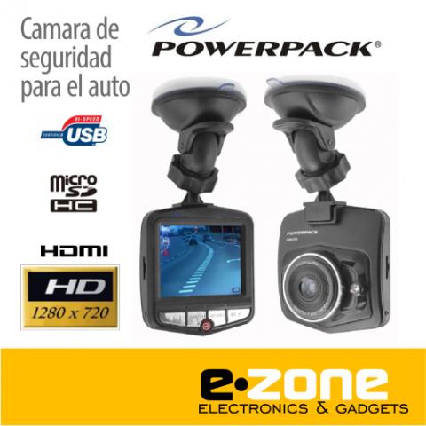 Cámara de seguridad POWERPACK para el auto 720HD. Grabación continua