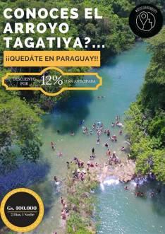 Tour al arroyo Tagatiya