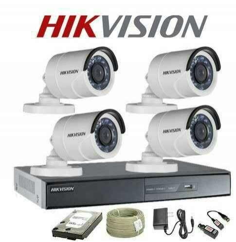 Kit de cámara de seguridad todo instalado HD con infrarrojas - 1
