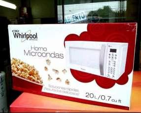 Microondas Whirlpool de 20 litros