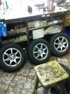 Llantas con cubiertas Dunlop Brasilero aro 13