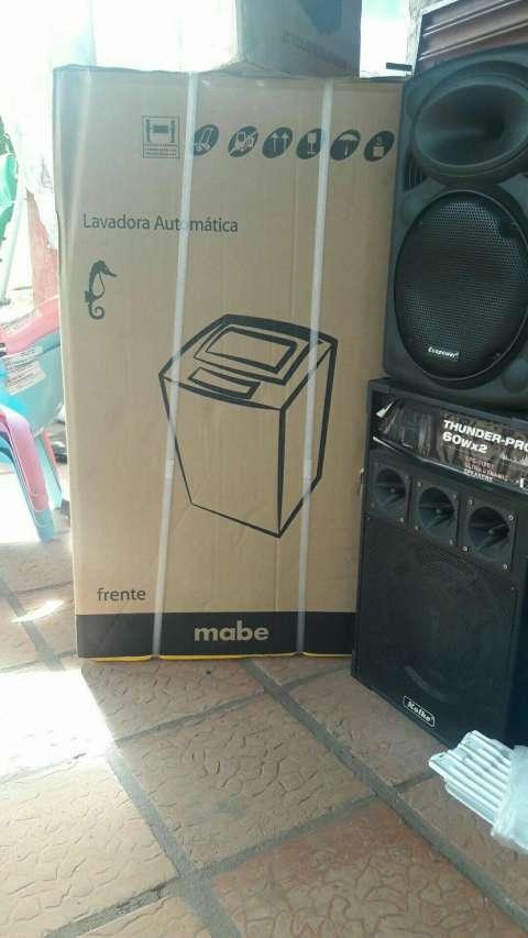 Lavarropa automatica Mabe de 8 kilos