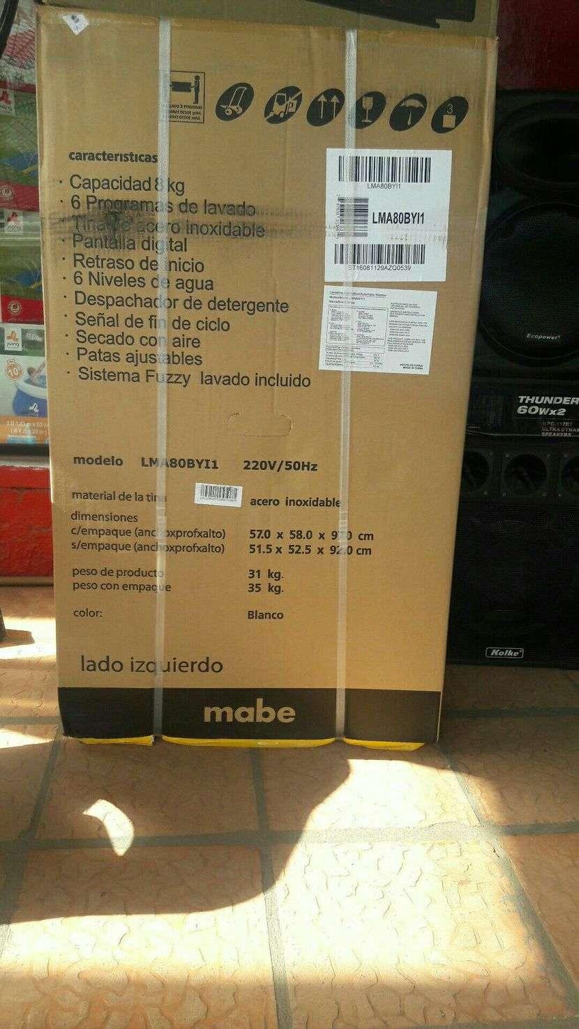 Lavarropa automatica Mabe de 8 kilos - 1