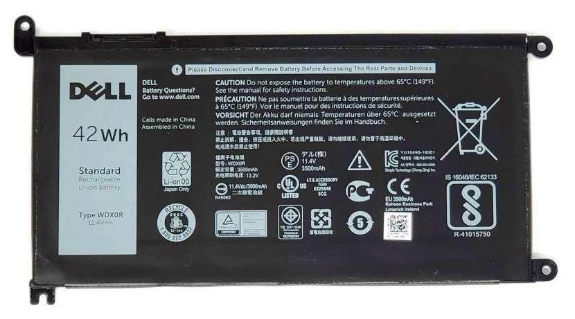 Batería para notebook Dell WDX0R 3CRH3 T2JX4 FC92N CYMGM - 0