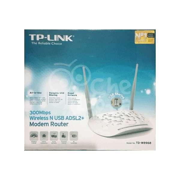 Módem Router ADSL2 TP Link TD-W8968 - 2
