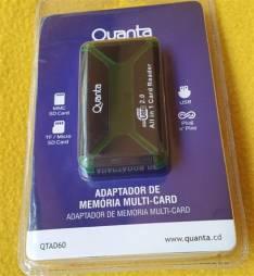 Adaptador Multi Card para Tarjetas de Memoria Quanta AD-60