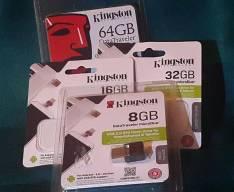 Pendrive Kingston Datatraveler microDuo de 8 a 64 gb