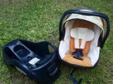 Asiento bebé para auto infantil con base