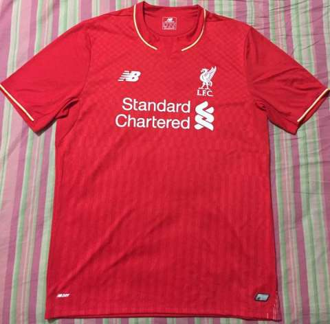 Camisetas originales del Liverpool