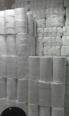 Fardos de papel higienico