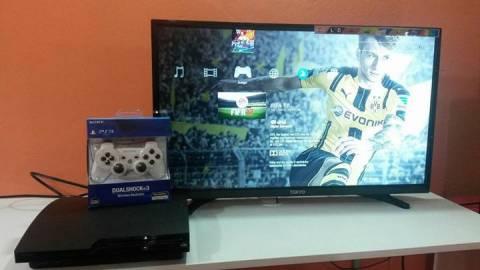 PS3 de 160 gb con 40 juegos