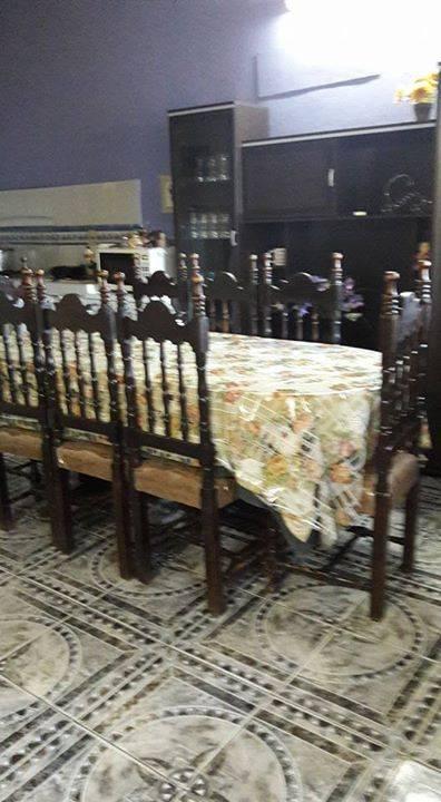 Juego de comedor con 8 sillas tapizado lidia id 296700 - Tapizado de sillas de comedor ...