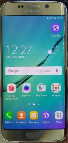 Samsung Galaxy S6 Edge dorado