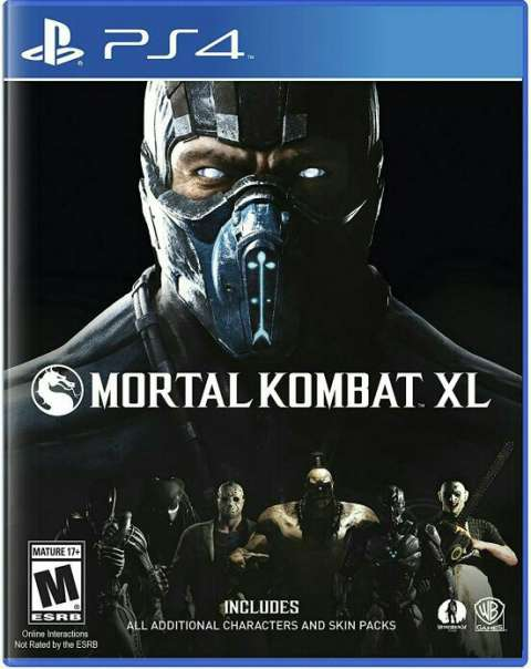 Mortal Kombat XL PS4 codigo digital