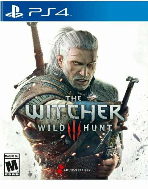 Witcher PS4 formato digital
