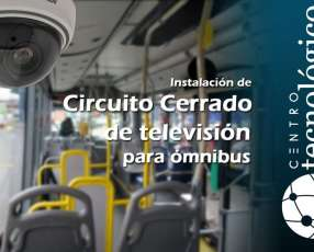 Cámaras de Videovigilancia para Buses de Transporte Público de Pasajeros