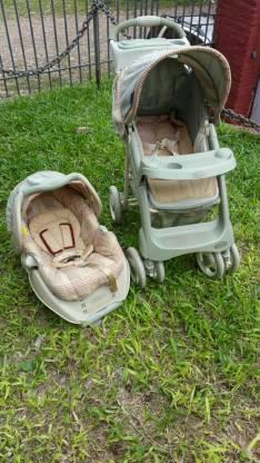Carrito y baby car Graco
