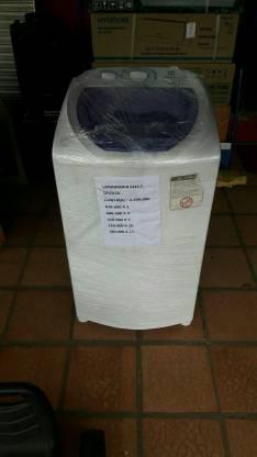Lavarropa automática electrolux carga superior para 6 kilos
