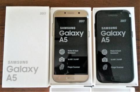 Samsung Galaxy A5 2017 libres y nuevos