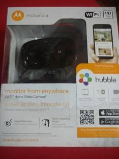 Cámara wifi Motorola