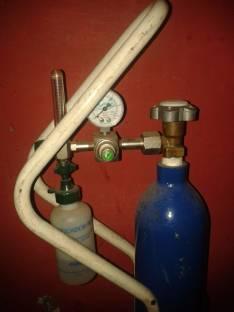 Balon 1/2 lts cubicos y Regulador de Oxigeno Medicinal..