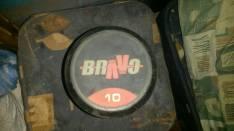 Mancuerna Bravo original 10 kg