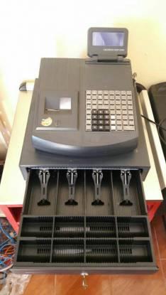 Caja registradora con etiquetadora Quorion QMP 2000